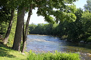 Saco Prints - Saco River - North Conway NH Print by Christiane Schulze