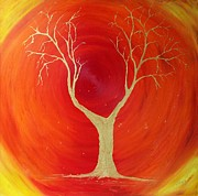 Chakra Paintings - Sacral Chakra 3rd Dimension by Liana Me Alyah