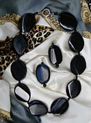 Black Ring Jewelry Originals - Sacrament of night by Olga Bejue