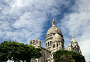 Sacre Coeur Photos - Sacre Coeur by Andrew Fare