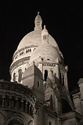 Sacre Coeur Art - Sacre Coeur by night V by Fabrizio Ruggeri