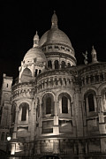 Sacre Coeur Art - Sacre Coeur by night VII by Fabrizio Ruggeri