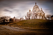 Sacre Coeur Art - Sacre Coeur in Paris by Serge Ramelli
