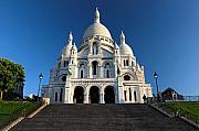 Sacre Coeur Photos - Sacre Coeur Montmartre Paris by Pierre Leclerc