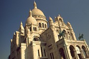 Sacre Coeur Art - Sacre Coeur - Paris by Peter Art Print Gallery  - Paintings Photos Posters