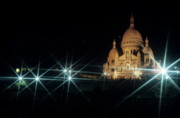 Architectural Feature Photos - Sacre Coeur by Sami Sarkis