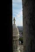 Sacre Coeur Art - Sacre Coeur Squeeze by David Shaffer