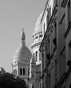 Sacre Coeur Art - Sacre Coeur View by Greg Matchick
