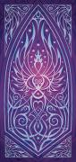 Abstract Decorative Posters - Sacred Feminine Poster by Cristina McAllister