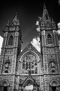 Christian Sacred Framed Prints - Sacred Heart Church Omagh County Tyrone Northern Ireland Framed Print by Joe Fox