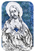 Jesus Photos - Sacred Heart Of Jesus by Trish Tritz