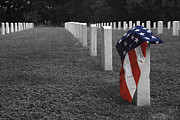 National Cemetery Prints - Sacrifice Print by Paul Huchton