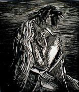 Sad And Sarrow Print by Rocio Chacon