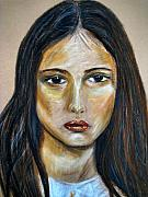 Sad Pastels Originals - Sad Sally by Susan Van Zyl