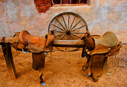 Tap On Photo Prints - Saddle Town Print by Marcia Fontes Photography