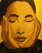 Soul Music Paintings - Sade by Jason JaFleu Fleurant