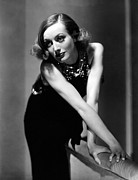 Full-length Portrait Metal Prints - Sadie Mckee, Joan Crawford, 1934 Metal Print by Everett