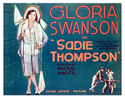 Swanson Photo Framed Prints - Sadie Thompson, Gloria Swanson, 1928 Framed Print by Everett