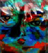 Woman In Arts Mixed Media - Sadness No More by Fania Simon