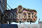 Saenger Metal Prints - Saenger Theater Metal Print by David Dittmann