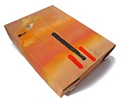 Warm Digital Art Originals - Safari Box by Charles Stuart