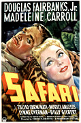 Postv Photos - Safari, Douglas Fairbanks Jr by Everett