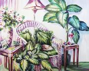 Home Interior Paintings - Safe by Barbara Eberhart