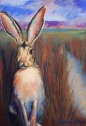 Rabbit Pastels - Safe for the Moment by Sandra Ortega