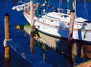 Docked Sailboat Originals - Safe Harbor by Karen Devonne Douglas