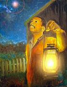 Underground Railroad Paintings - Safe by Mary  Rucker