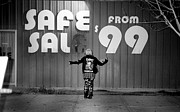 Las Vegas Arts District Prints - Safe Sal Print by Kenneth Lamug