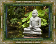 Healing Metal Prints - Sage of Peace Metal Print by Bell And Todd