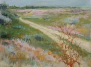 Washington Pastels - Sagebrush Road by LaDonna Kruger