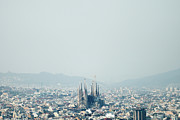 Barcelona Prints - Sagrada Familia Print by Roc Canals Photography