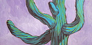 Spines Paintings - Saguaro 11 by Sandy Tracey
