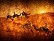 Mystic Digital Art - Sahara by Svetlana Sewell