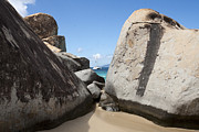 Virgin Gorda Island Art - Sail Away  by Leslie Leda
