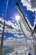 Horizon Wind Framed Prints - Sail  Framed Print by Drew Castelhano