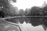 Central Park Prints - Sailboat Lake Central Park Print by Christopher Kirby
