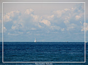 Sailboat On Lake Ontario Print by Rose Santuci-Sofranko