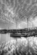 Bolling Photos - Sailers Delight Black and White by JC Findley