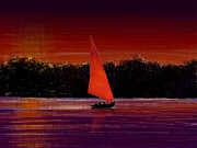 Moignard Prints - Sailing Print by Barbara Moignard