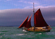 Sailing Boat Originals - Sailing  by Chris Cardwell