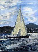 Signed Originals - Sailing by Deborah Duffy