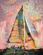 North Carolina Originals - Sailing from Shackleford by Betsy A Cutler East Coast Barrier Islands