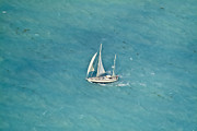 Yacht Photos - Sailing in The Keys by Patrick M Lynch