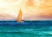Rick Davis - Sailing in the Sunset