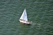 Under The Ocean Prints - Sailing Narragansett Bay 2 Print by Duncan Pearson