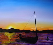 James Dunbar - Sailing Sunset 1