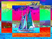 Nautical Digital Art - Sailors Delight 2 by Tim Allen